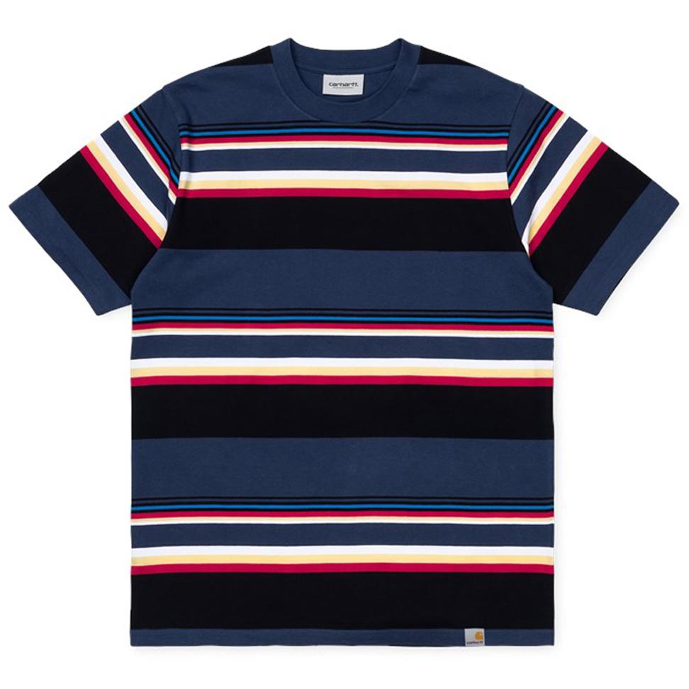 Carhartt WIP Sunder T-Shirt Sunder Stripe Blue/Blue