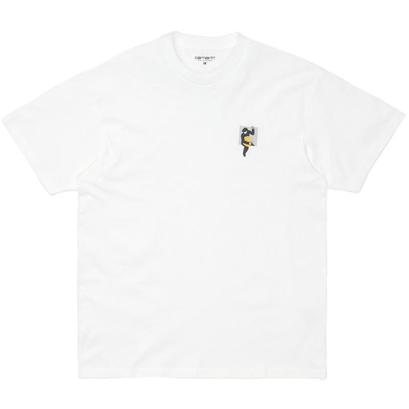 Carhartt WIP Teef T-Shirt White