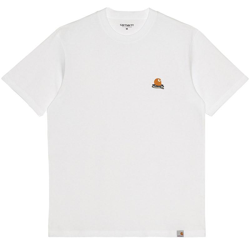 Carhartt WIP Trap C T-Shirt White