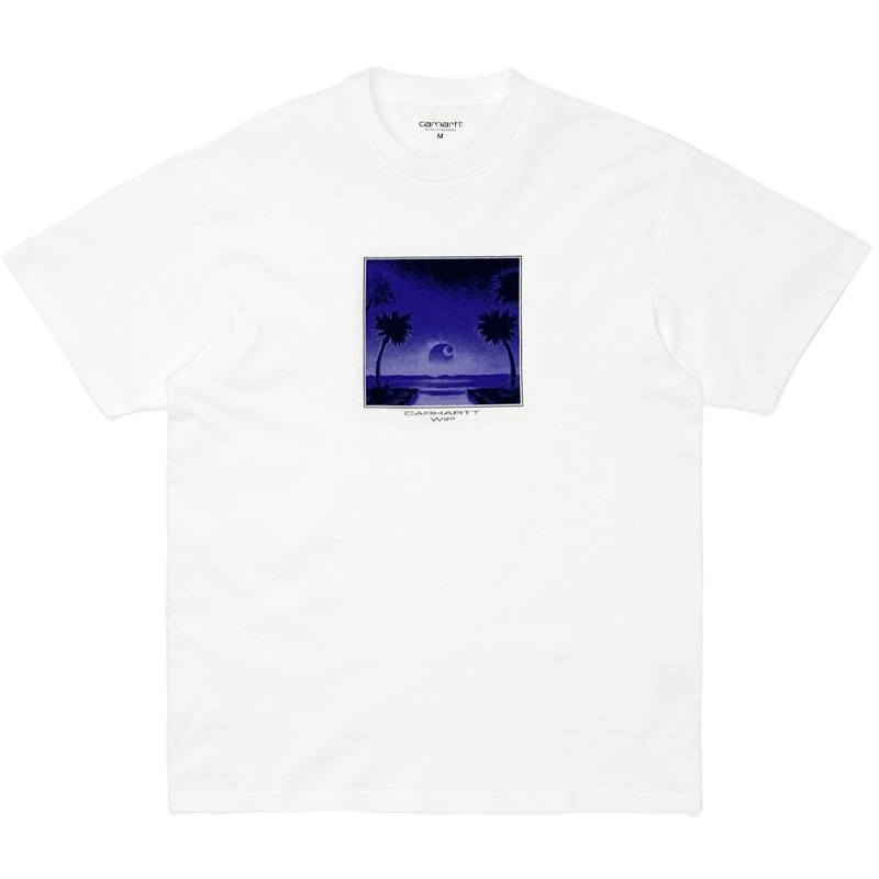 Carhartt WIP Tropical T-Shirt White