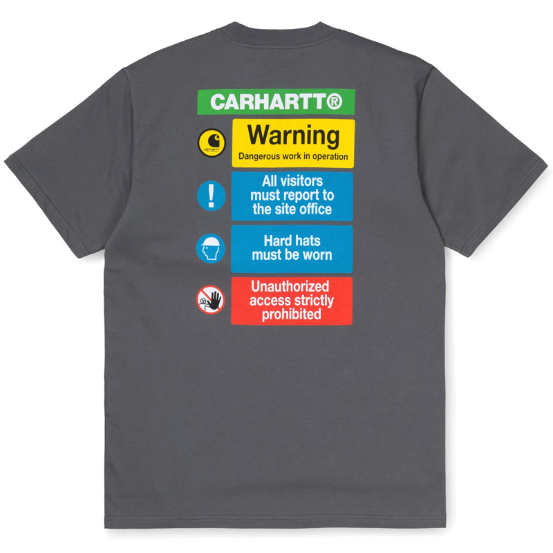 Carhartt WIP Warning T-Shirt Husky