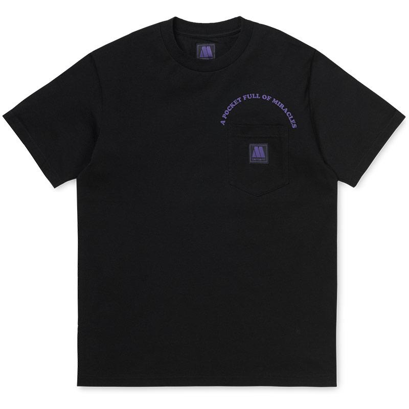Carhartt WIP X Motown Pocket T-Shirt Black/Prism Violet