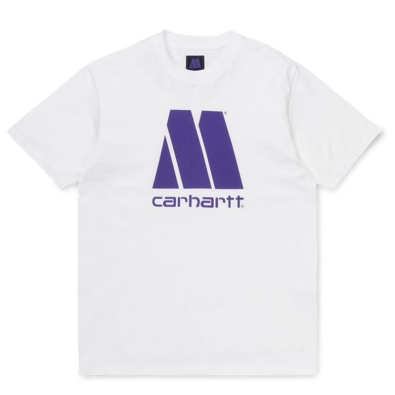 Carhartt WIP X Motown T-Shirt White/Prism Violet