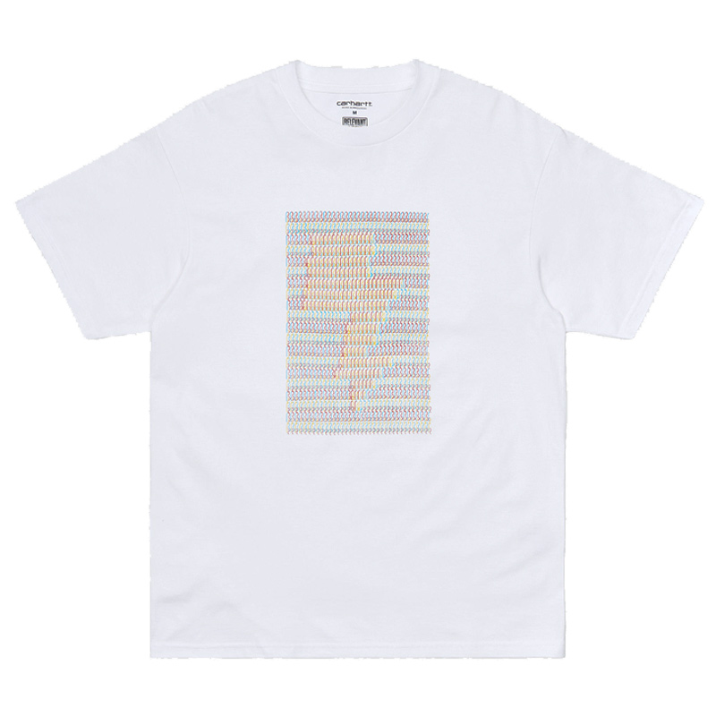 Carhartt WIP X Relevant Parties DFA T-Shirt White