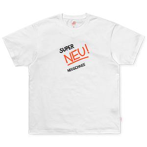 Carhartt X Neu Super Neuschnee T-shirt White