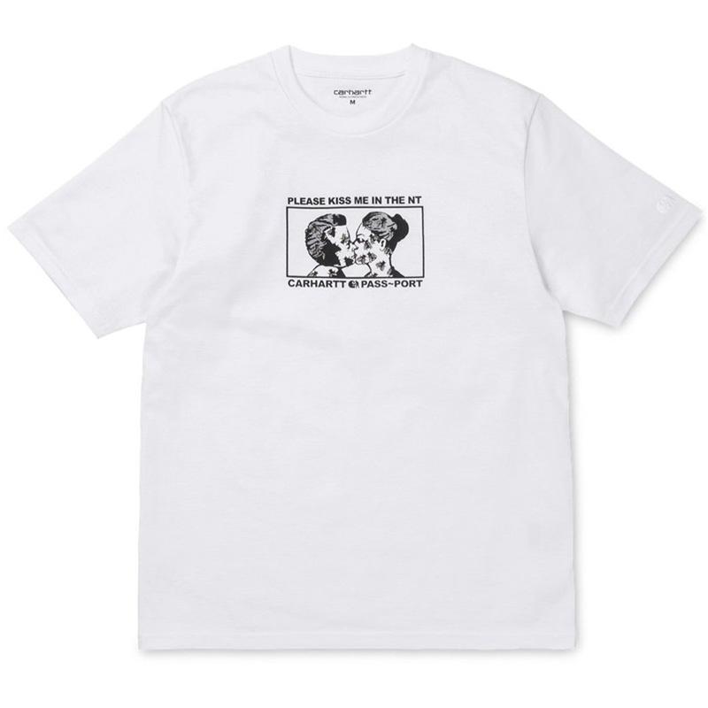 Carhartt X Pass Port Good Bye T-Shirt White