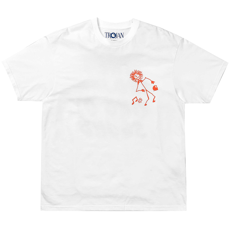 Carhartt X Trojan Records King Of Sound T-Shirt White