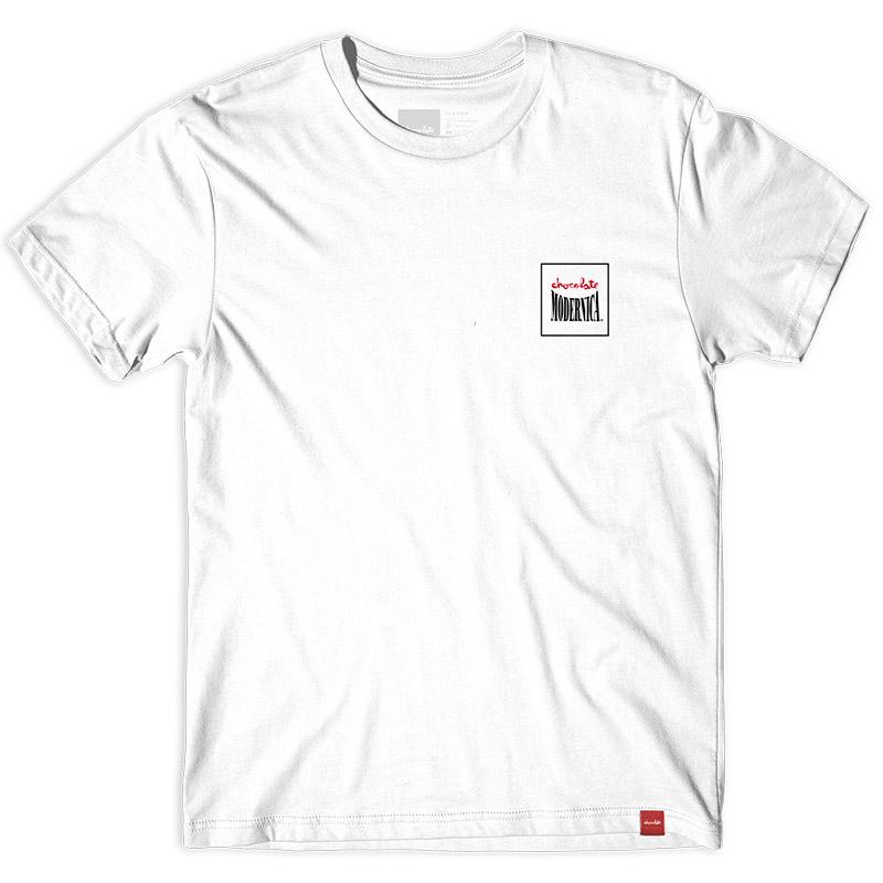 Chocolate Modernica T-Shirt White