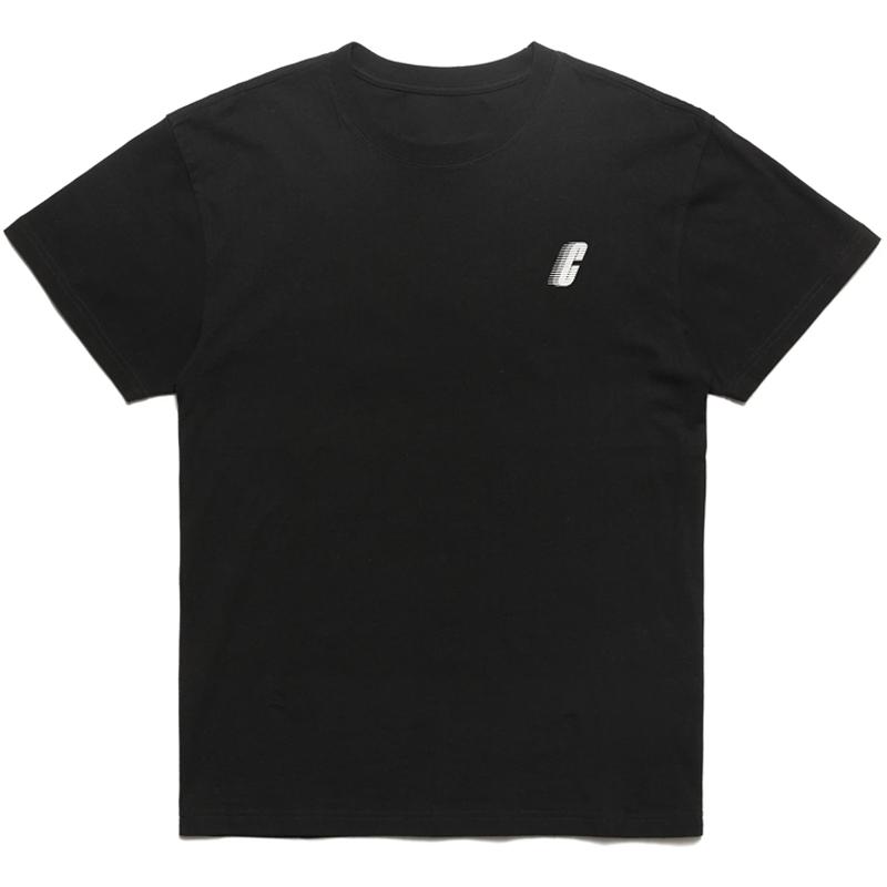 Chrystie NYC Chrystie Race C Logo T-Shirt -Black