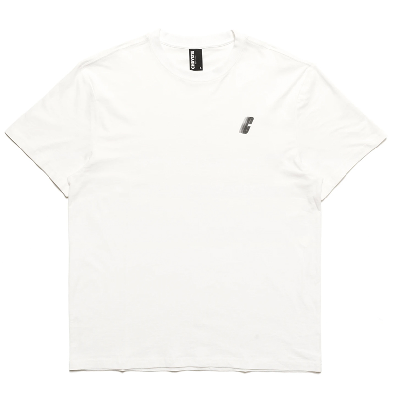 Chrystie NYC Chrystie Race C Logo T-Shirt -White