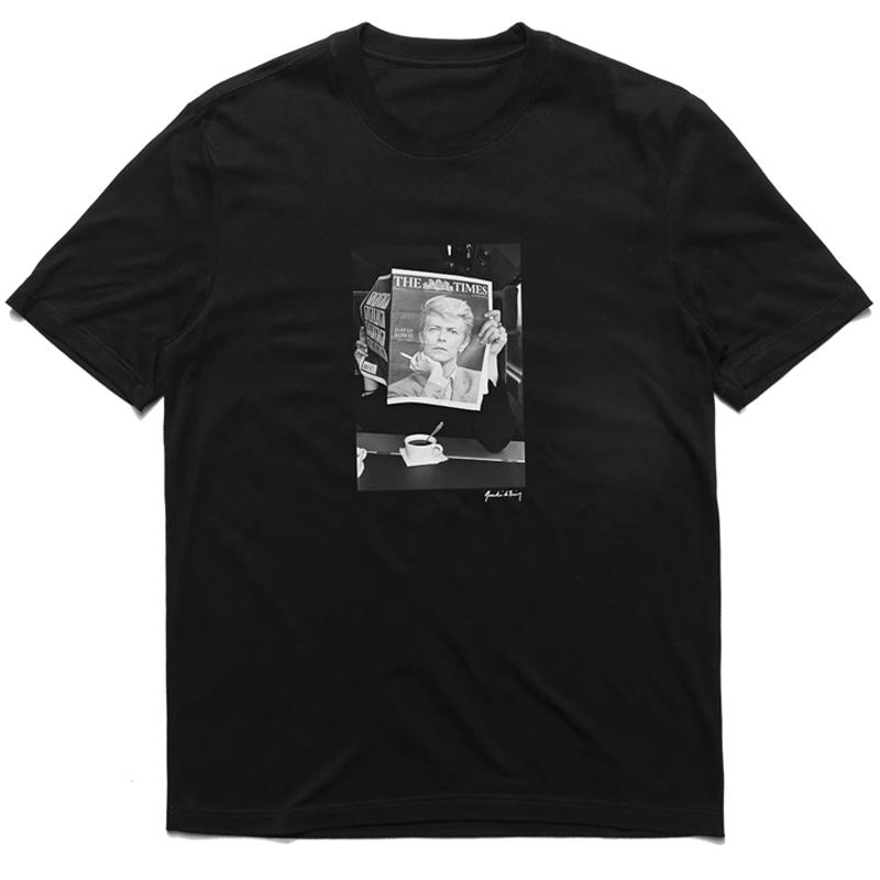 Chrystie NYC Quentin De Briey Photo T-Shirt Black