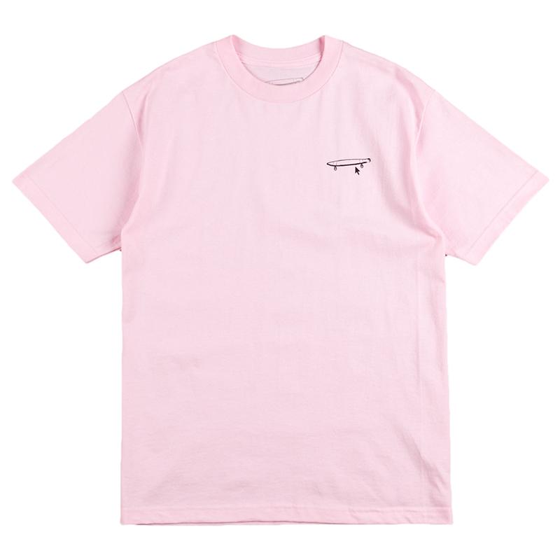Crailtap Crail Logo T-Shirt Pink