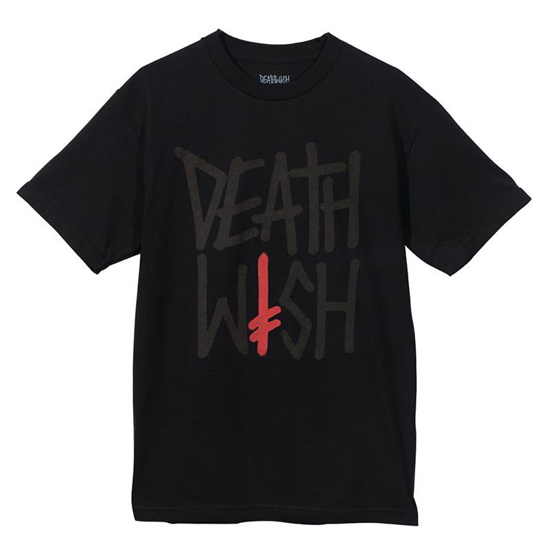 Deathwish Deathstack Tonal T-Shirt Black