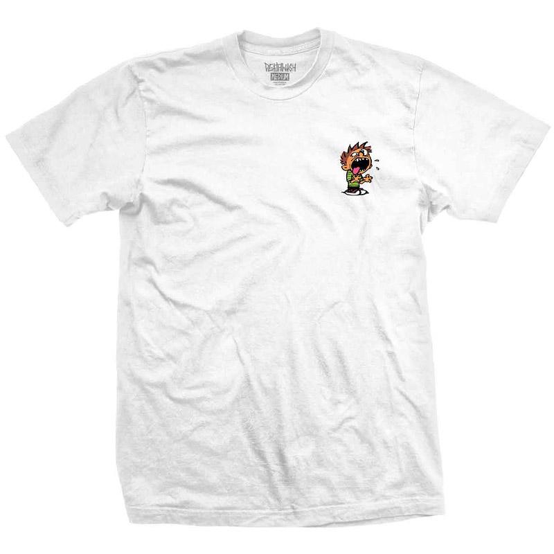 Deathwish Spaz T-Shirt White