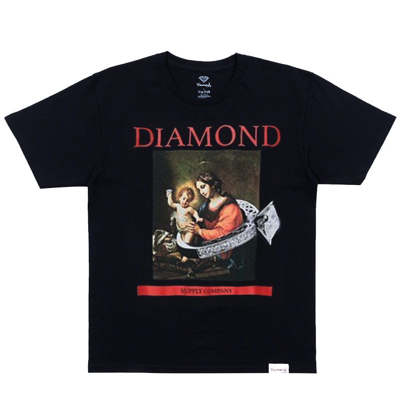 Diamond 13Th Century T-Shirt Black