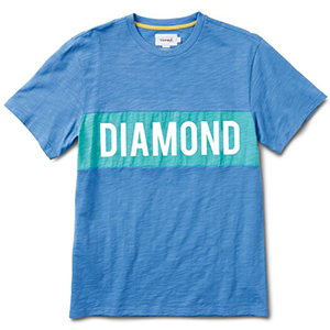 Diamond Elliot T-Shirt Blue