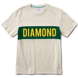 Diamond Elliot T-Shirt Cream