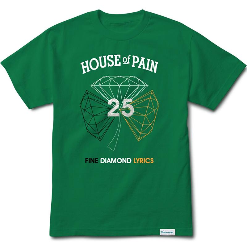 Diamond H.O.P. Diamond T-Shirt Kelly Green