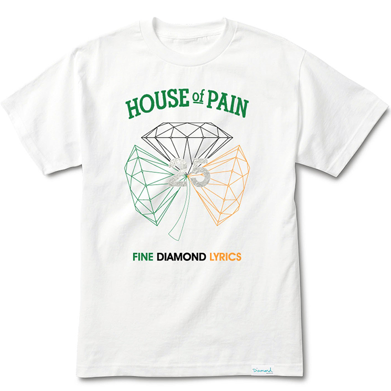 Diamond H.O.P. Diamond T-Shirt White