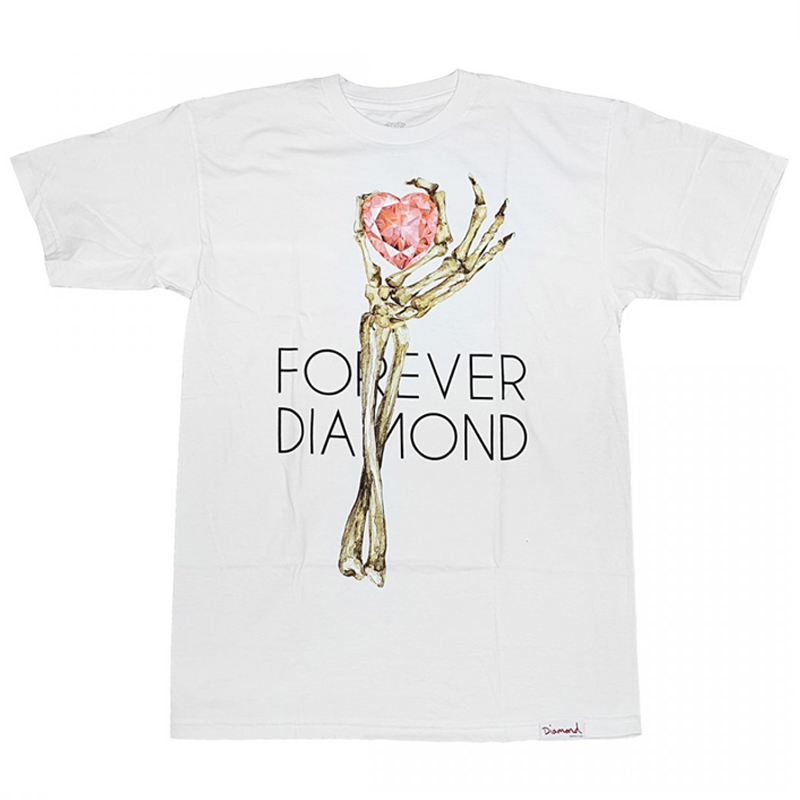Diamond Heart Of Tee T-Shirt White