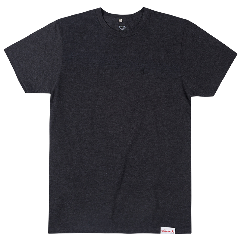 Diamond Micro Un Polo T-Shirt Black