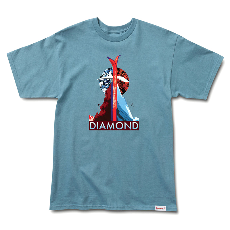 Diamond Peak T-Shirt Slate