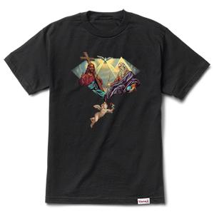Diamond Trinity T-Shirt Black