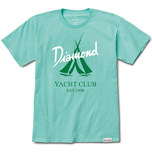Diamond Voyage T-Shirt Diamond Blue