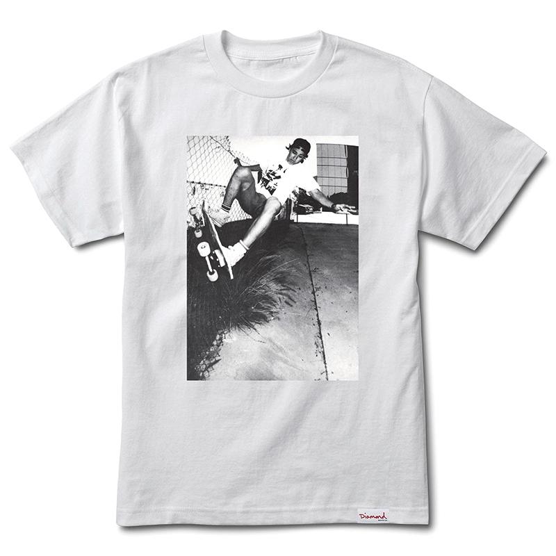 Diamond x Dogtown Oster T-Shirt White