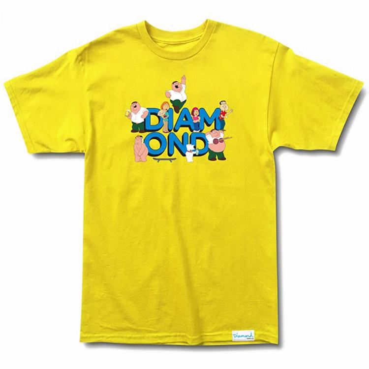 Diamond x Family Guy T-Shirt Yellow