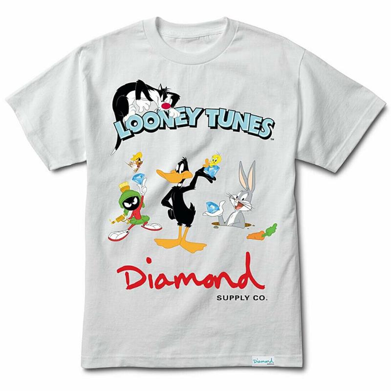 Diamond x Looney Tunes T-Shirt White