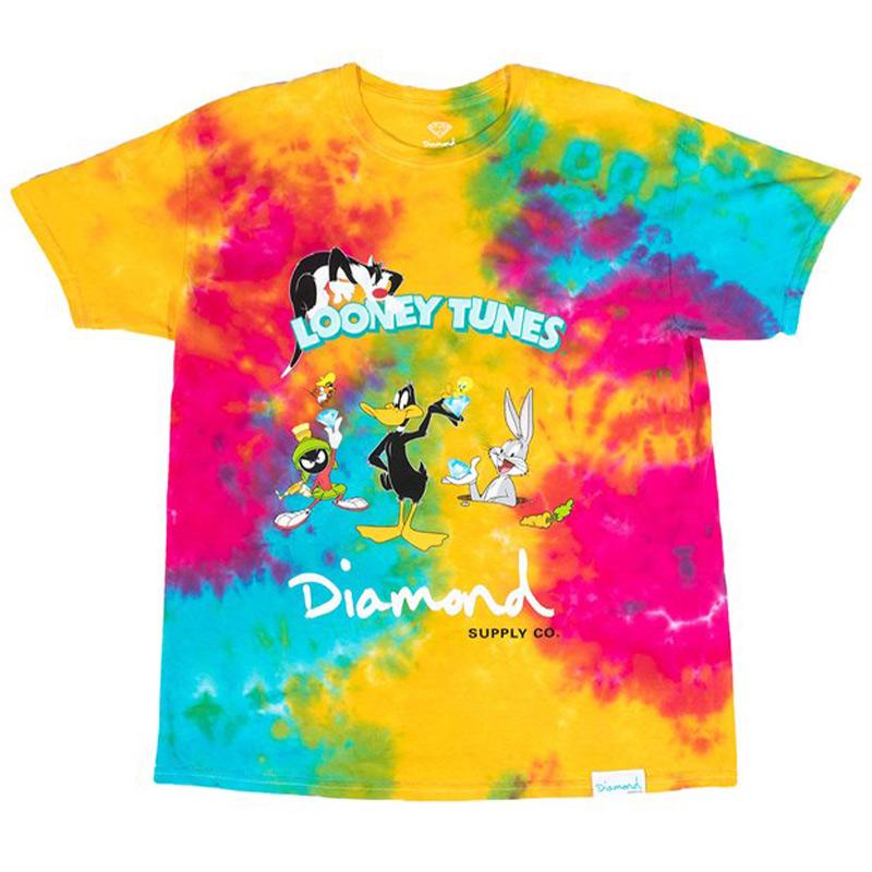 Diamond x Looney Tunes Tie Dye T-Shirt