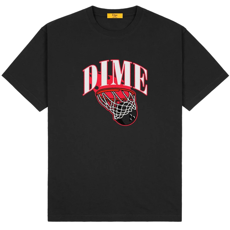 Dime Basketbowl T-Shirt Black