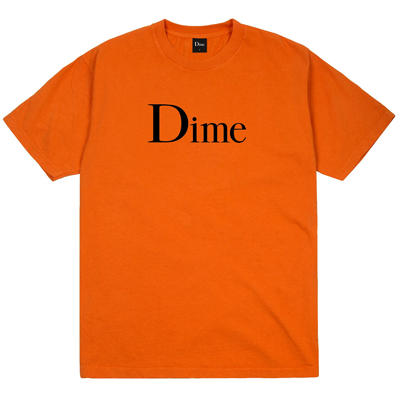Dime Classic T-Shirt Burnt Orange