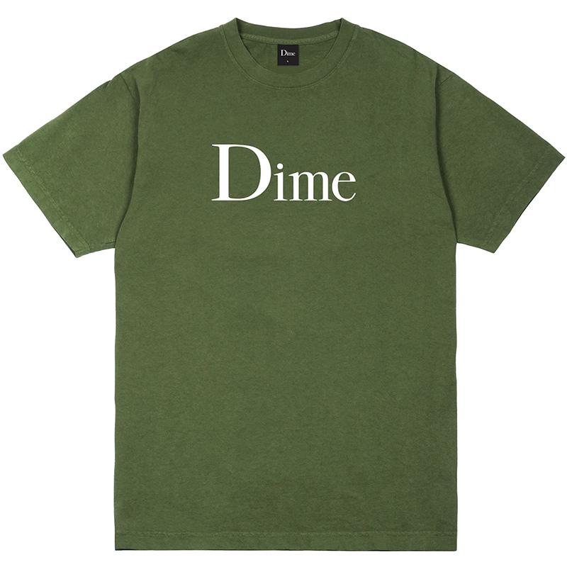 Dime Classic T-Shirt Olive
