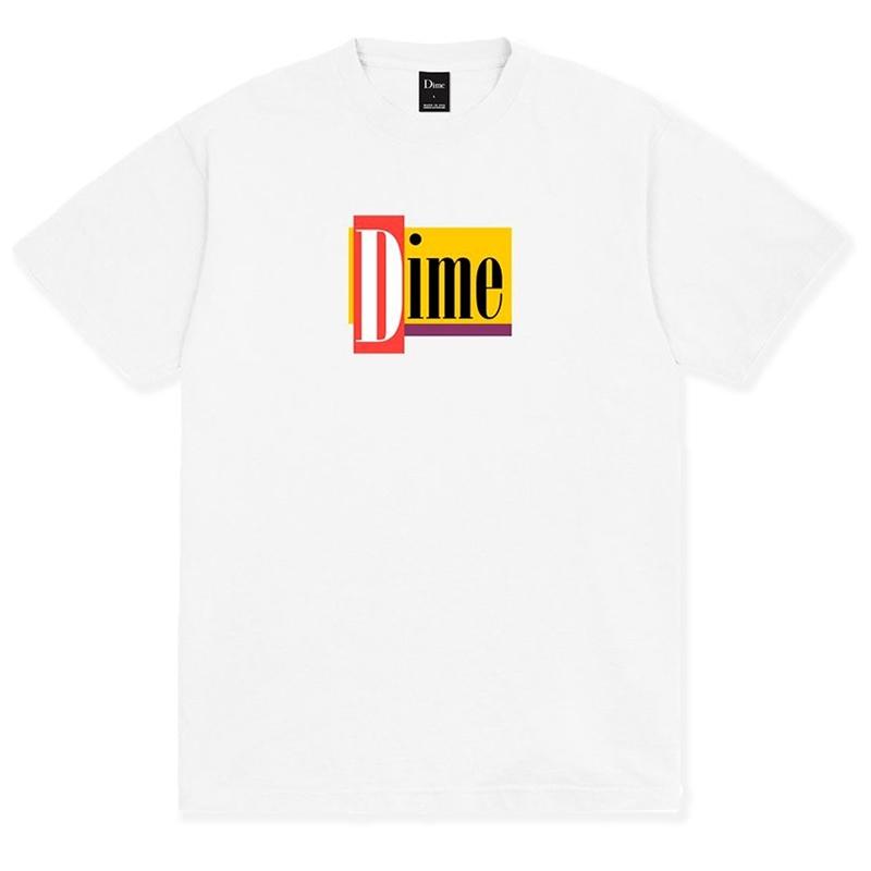 Dime Diner T-Shirt White