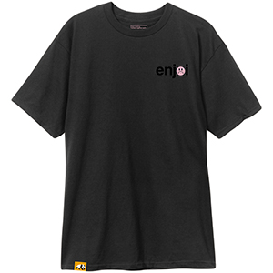 enjoi Frowny Face T-Shirt Black