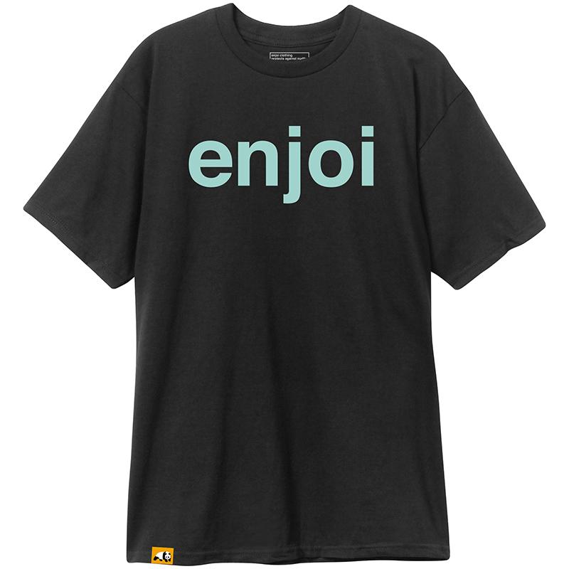 enjoi Helvetica Logo T-Shirt Black