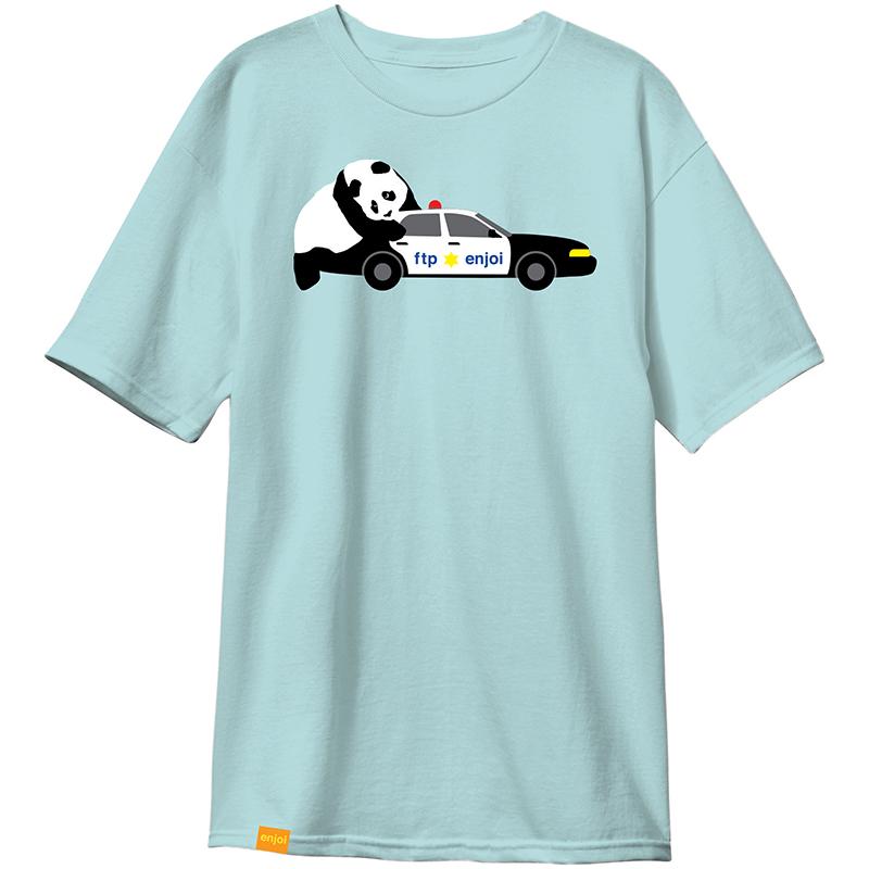enjoi Humping Cop T-Shirt Celadon