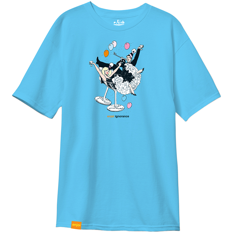 enjoi Ignorance Premium T-Shirt Pacific Blue