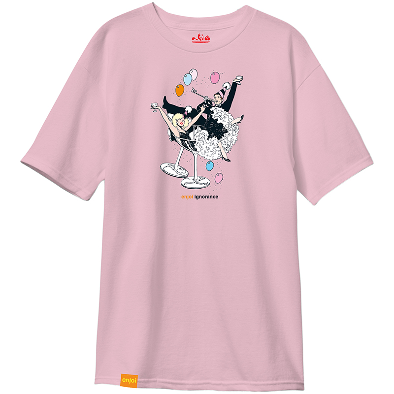 enjoi Ignorance Premium T-Shirt Pink