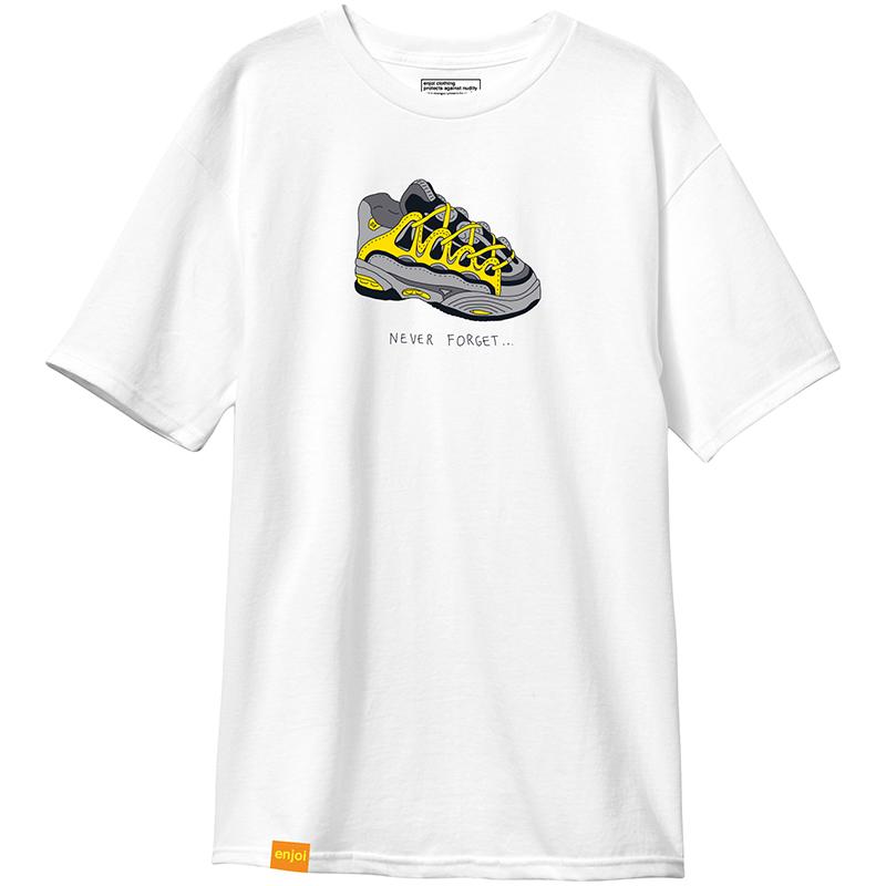 enjoi Never Forget Premium T-Shirt White