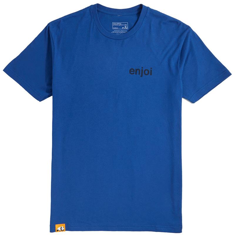 enjoi Panda Pile Premium T-Shirt Royal
