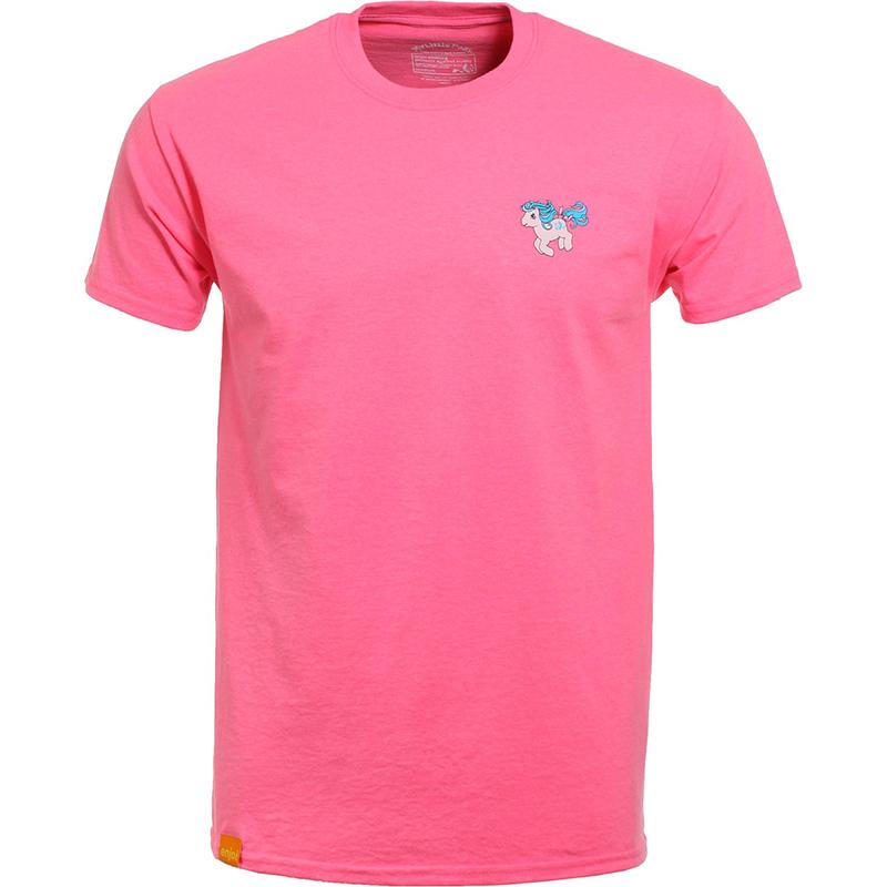 enjoi Pony Power Safety T-Shirt Pink