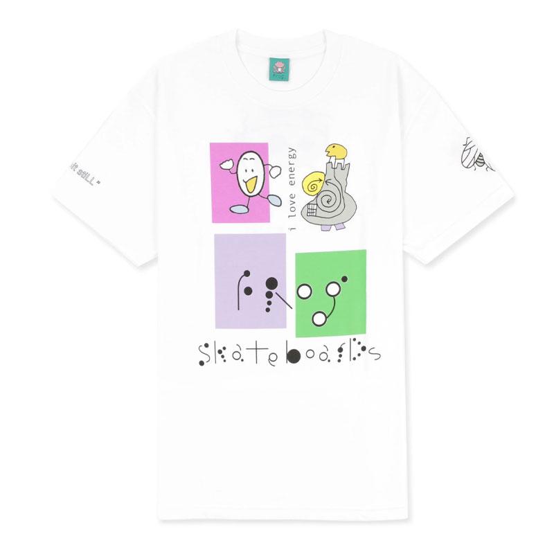 Frog I Love Energy T-Shirt White