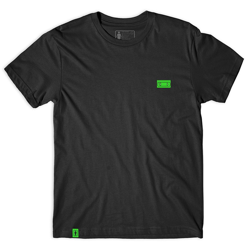 Girl Films Yeah Right T-Shirt Black