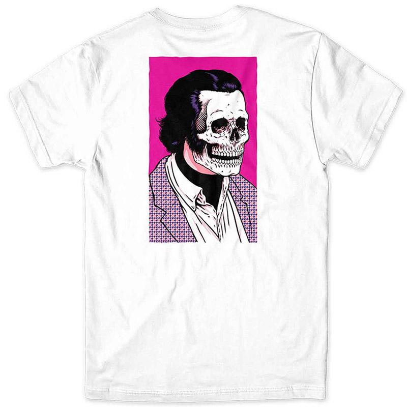Girl Skull Of Fame T-Shirt White
