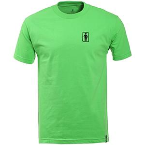 Girl SUBPOP Logo T-Shirt Lime green
