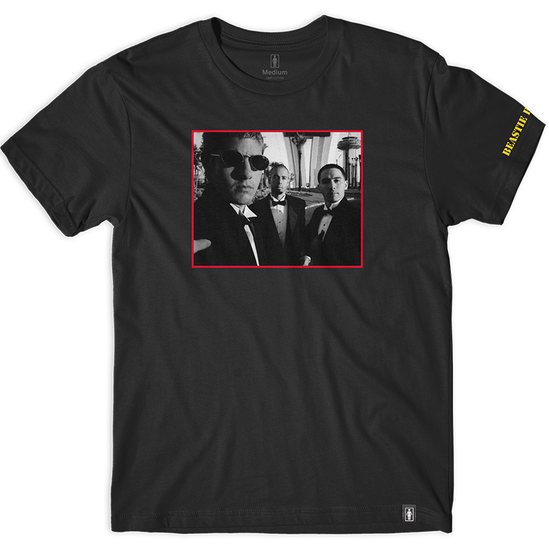 Girl x Beastie Boys Sure Shot Photo T-Shirt Black
