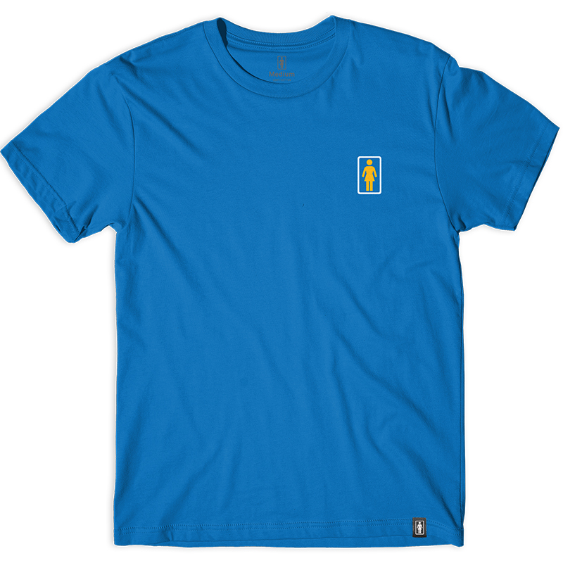 Girl x Kodak Ektachrome T-Shirt Caroline Blue
